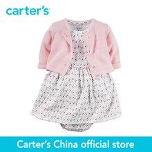 2 pcs bébé enfants enfants Babysoft de Carter Body Dress & Cardigan Ensemble 126G284, vendu par Carter de Chine boutique officielle