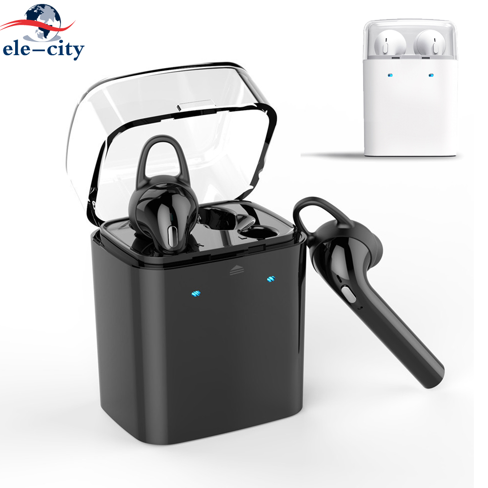Hifi Earphone True Wireless Stereo Bluetooth Earbuds with Charging Case Twins Bass Music Headset For iPhone Samsung Business Car givenchy туалетная вода ange ou demon le secret женская 50 мл