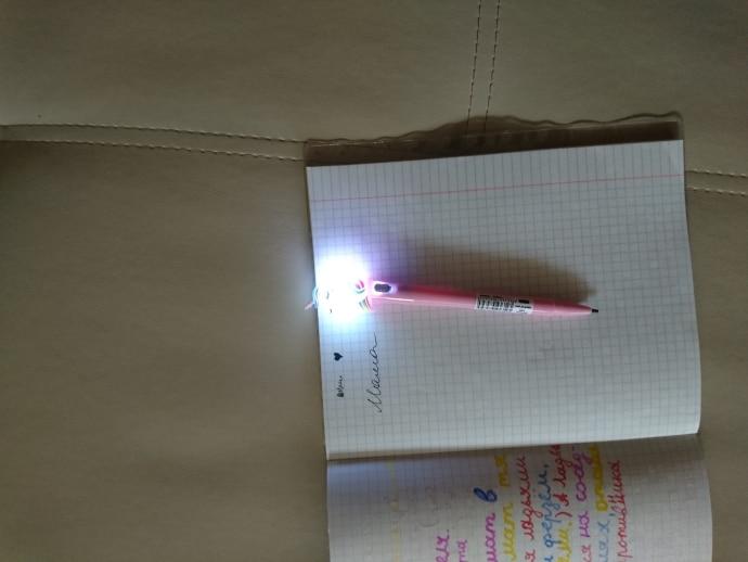 Glowing Unicorn Pens photo review