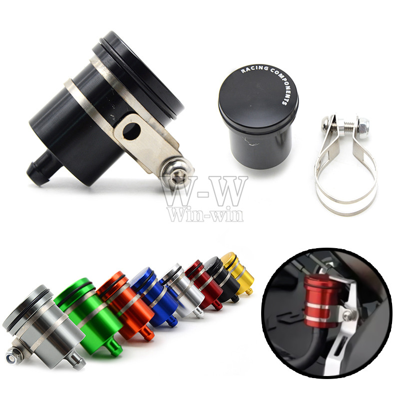 Universal Motorcycle Brake Fluid Reservoir Clutch Tank Cylinder Master Oil Cup For HONDA NC700X DCT NC750S NC750X motorcycle brake fluid reservoir clutch tank oil fluid cup for yamaha yzf r25 r15 r6 r125 kawasaki z750 z800 fz8 fz1 fz6r mt09