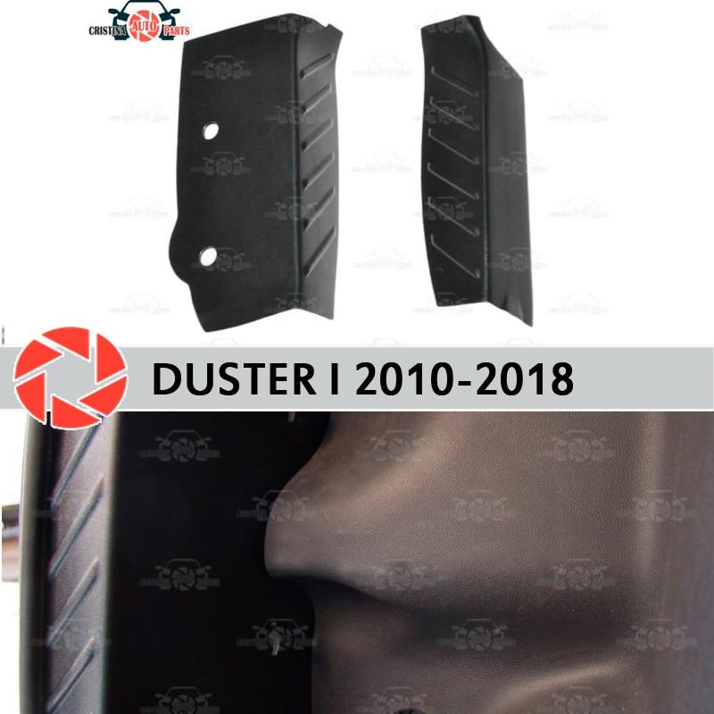 Tampas laterais na mala do carro para Renault Duster 2010-2018 placa de proteção tronco interno de proteção acessórios car styling decoração