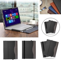 Eagwell Detachable Case For Microsoft Surface Book 1 13.5 2015 Fashion PU leather Magnet attached Protect Case Cover