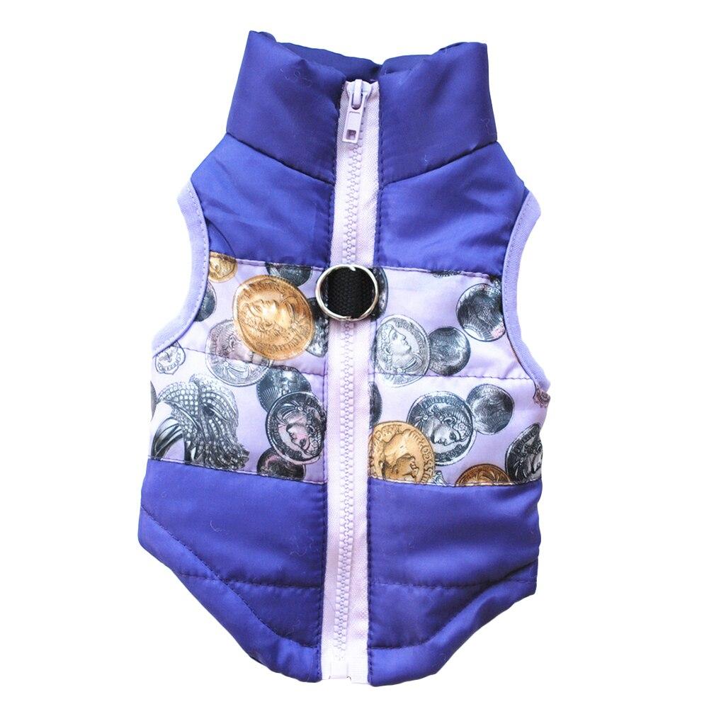 Veste Hiver pour Chien monnaie