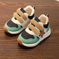 Solid Cute Hot Sales Baby Girls Boys Shoes Hook Loop Cool All Season Baby First Walkers