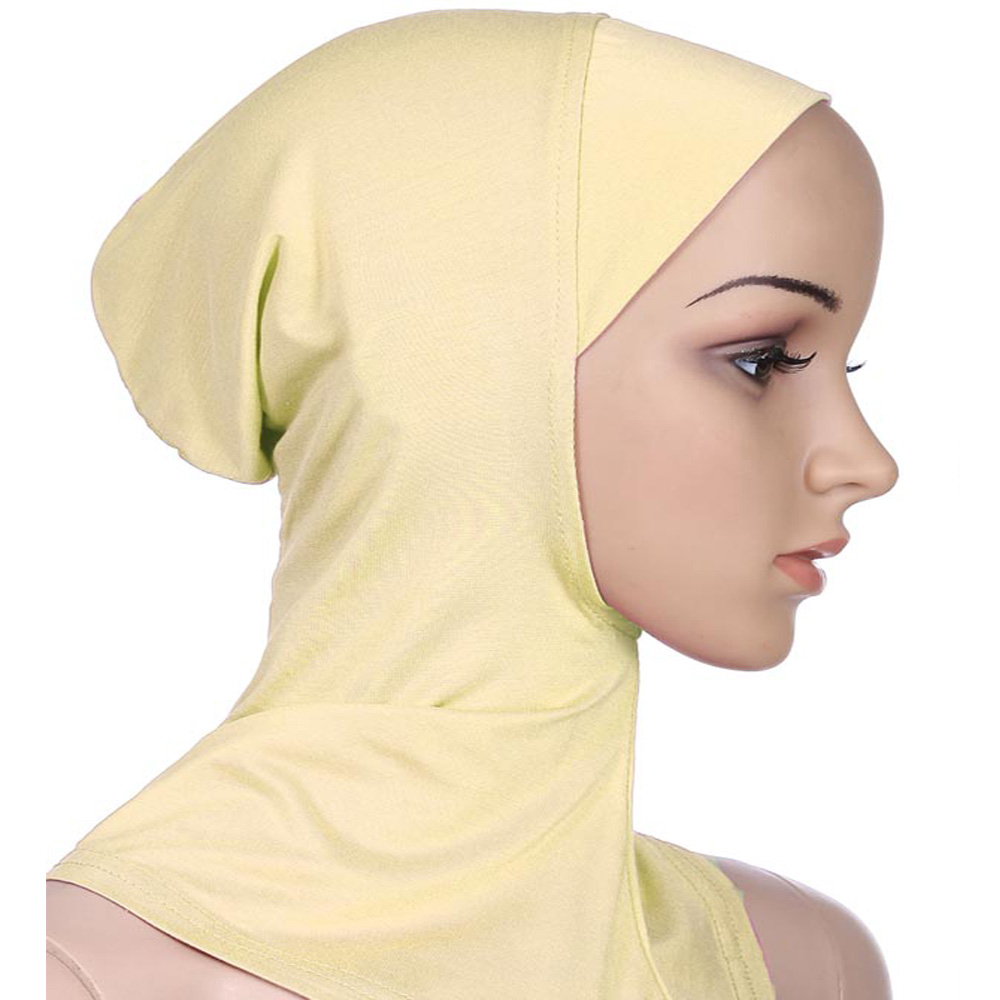 Image 4 - Women Caps Ninja Head Cover Bonnet Hat Underscarf Muslim New  Style Scarf Amira Arab Islamic Beanies Skullies Neck Cover  FashionWomens Skullies