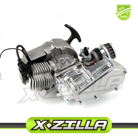 49cc 2 stroke Engine Motor for Mini Pocket Bike Scooter Dirt Bikes ATV Quad Motorized Bicycle Motorcycle Accessories Engine