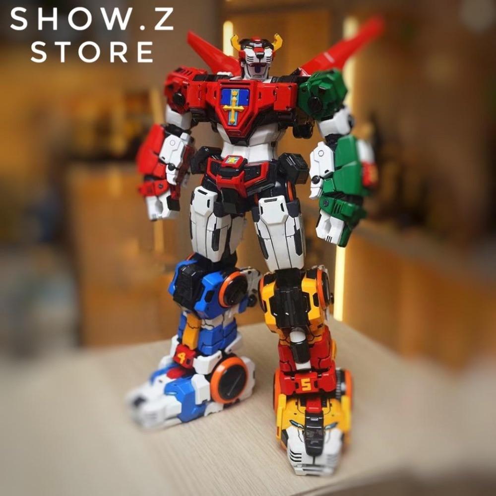 [Show.Z Store] Titan Power TitanPower TP TP-01 TP01 Titan Beast King Chogokin Voltron W/ LED Action Figure