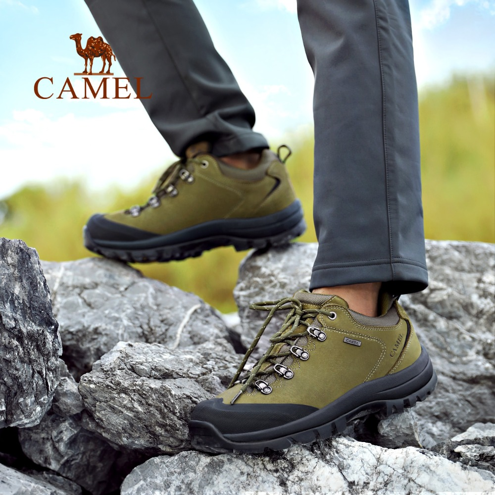 CAMEL Outdoor Hiking Shoes For Couple Anti-skid Breathable Sports Trekking Hunting Excursion Climbing Mountain Shoes