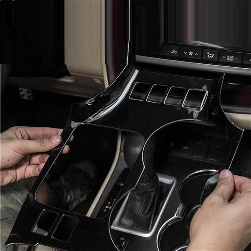 Cup Control system interior promote automovil chromium covers car styling trim modification 15 FOR Toyota Highlander