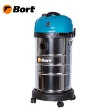 Пылесос для сухой и влажной уборки Bort BSS-1630-SmartAir (Мощность 1600 Вт, вместимость пылесборника 30 л, длина шланга 2 м, функция выдува и сбора жидкости, подключение электроинструмента, длина кабеля 6 м)
