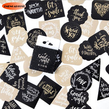 hot deal buy 45pcs/box kawaii english blessing decoration adhesive stickers diy stickers diary sticker scrapbook stationery stickers