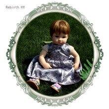 16 Pouces Silicone Reborn Bébé Poupées Simulation bébé poupée doux sommeil bébé jouet partenaire de croissance