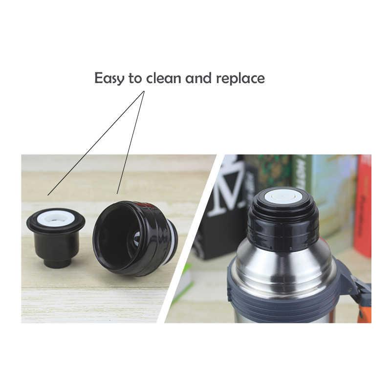 ZIKAI 5.2 cm Thermos Cover Vacuüm Flsak Deksel Thermocup outdoor reizen cup kogel kolf cover Roestvrij Thermose Accessoires C-3
