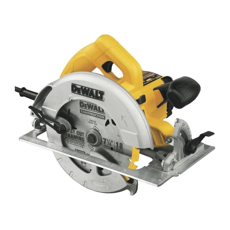 Circular saw DeWalt DWE550 (Power 1200 W, 165mm, drunk in a tree up to 55mm) все цены