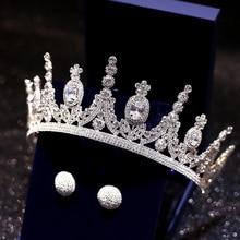 Estrela pavao dos homens Rei блестящая корона выпускного вечера Acessorios тиара полный круг Rodada