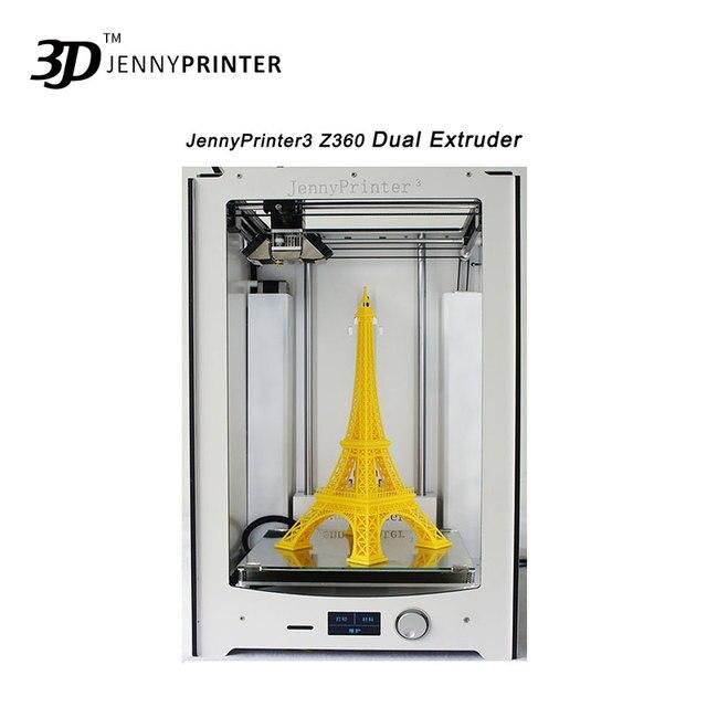 Новинка! JennyPrinter3 Z360 DIY KIT для UM2 Ultimaker 2 + расширенный автоматическое выравнивание 3D-принтеры включают все Запчасти