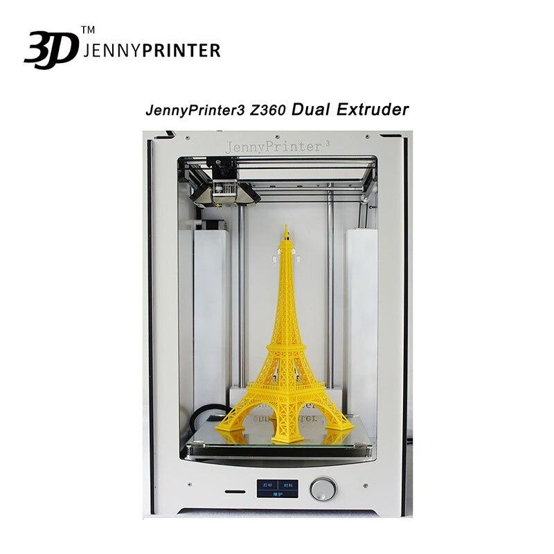 Le plus récent! JennyPrinter3 Z360 kit de bricolage pour UM2 Ultimaker 2 + imprimante 3D de nivellement automatique étendue comprend toutes les pièces