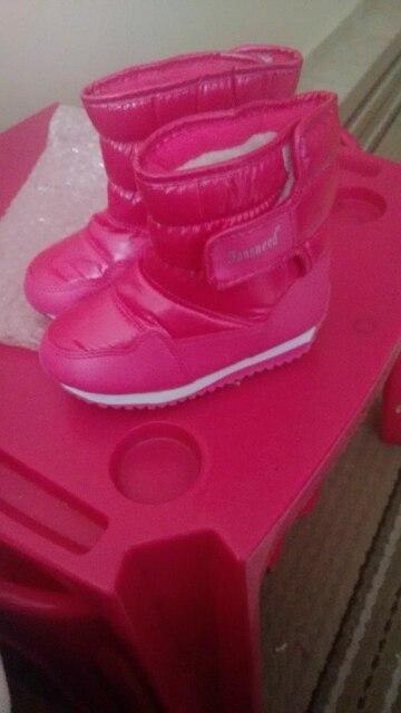 Детские резиновые Сапоги и ботинки для девочек для Обувь для девочек Обувь для мальчиков до середины икры банджи шнуровкой зимние сапоги Водонепроницаемые Обувь для девочек загрузки Спортивная обувь меховой подкладкой дети загрузки