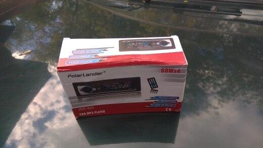 Автомобиль, Радио стерео плеер Bluetooth телефон AUX-IN MP3 FM/USB/1 Din/пульт дистанционного управления 12 В Car Audio Авто 2017, распродажа Новый