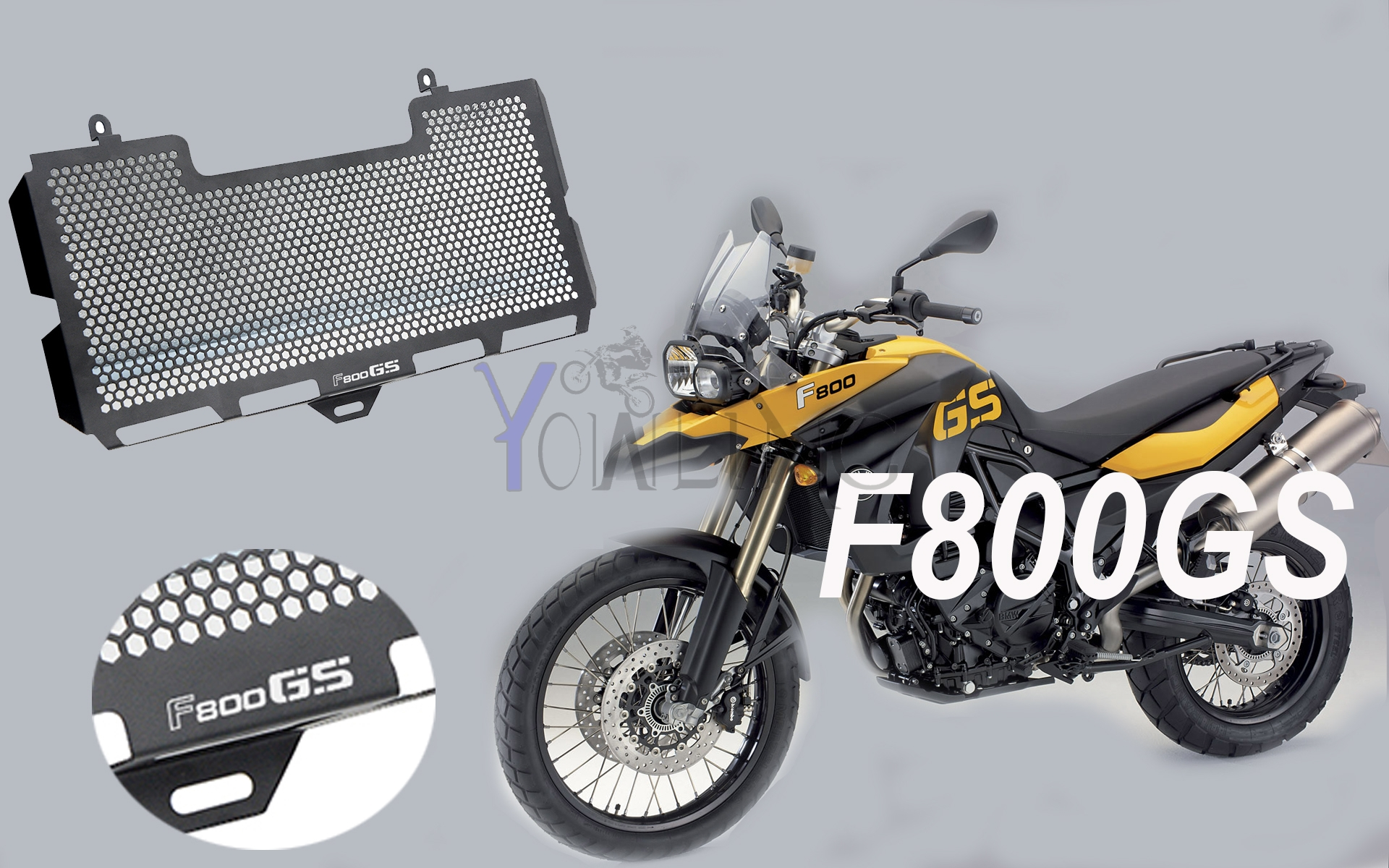 For BMW F800GS Motorcycle Radiator Grille Guard Cover Accessories protective F 800 GS 800GS (08-15) motorcycle radiator grill grille guard screen cover protector tank water black for bmw f800r 2009 2010 2011 2012 2013 2014