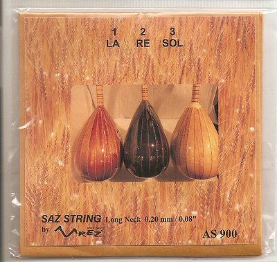 LONG NECK TURKISH BAGLAMA SAZ STRINGS HIGH QUALITY