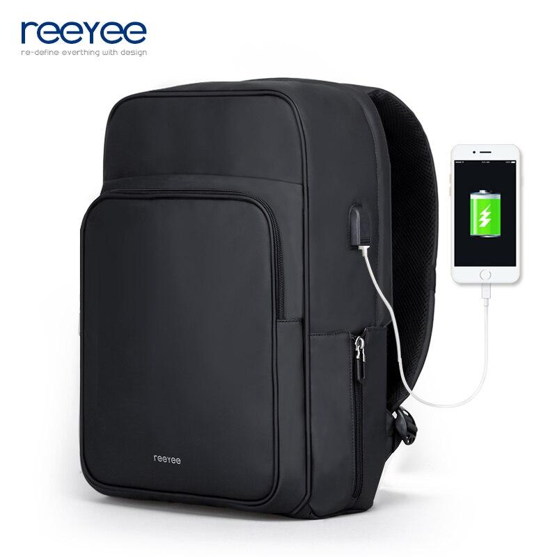 Waterproof Large Capacity 15.6 Inch Laptop Bag Man USB Design <font><b>Backpack</b></font> Bag Black <font><b>Backpack</b></font> women School Bags Mochila Masculina