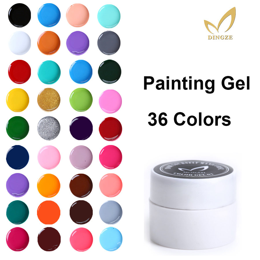 2021 гель краски дизайн ногтей белое французкое столовое кресло для ногтей Гель-лак для живописи uv led удалять замачиванием для рисования цвет...
