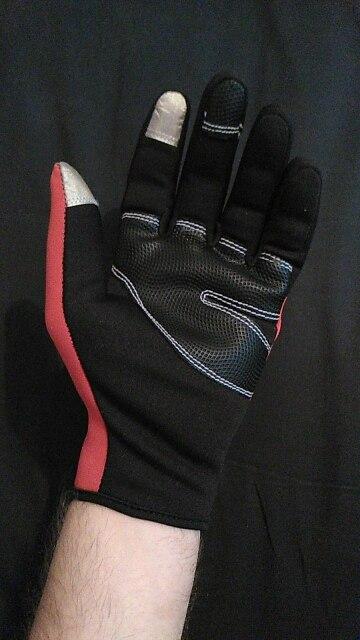Зима велосипед велосипедные перчатки теплые спорт на открытом воздухе велосипед перчатки ветрозащитный мотоциклов, тактические, лыжные перчатки для Для мужчин Для женщин Сенсорный экран