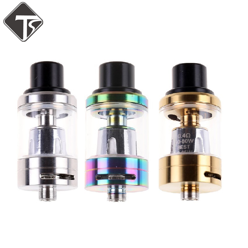 Hot Sale 22mm RDA Tank 40-130W Atomizer Top Filling 0.4 Ohm Core Coil 2ml 510 Thread For Electronic Cigarettes Vape Box Mod