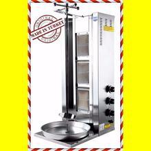 3 горелки работает с пропан детектор утечки газа вертикальный коммерческий Бройлер шаурма гироскоп Донер барбекю Rotisserie Tacos Al пастор гриль-машина
