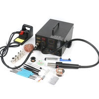 968A+ multi function hot air soldering station Desoldering Repair Station For SMD BGA Rework Better AOYUE 968 968A|Soldering Stations| |  -