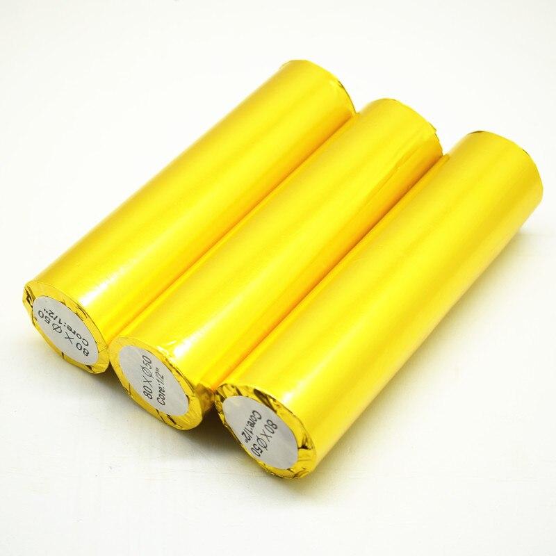Registrierkasse für wärmeempfindliches Papier 2 Rollen / Charge 80 - Papier - Foto 4