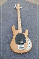 Venta caliente Music man Bass 4 cuerdas Ernie Ball Stingray eléctrica Guitarras cromo Equipos en stock para envío
