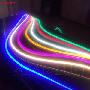 Image 2 - 10m 2835 led flexible strip light Led outdoor flexible neon 220v waterproof IP65 LED Light Strip,60leds/m LED Light Strip