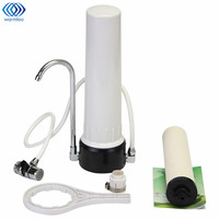 Kitchen Water Purifier Faucet Tap Filter Countertop Ceramic Activated Carbon Faucet Clean Filter Drinking Household