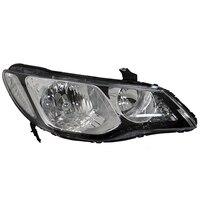 Headlight Right fits HONDA CIVIC 2005 2006 2007 2008 2009 2010 2011 4 Doors Headlamp Right for Leveling