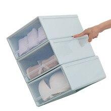 Новый мульти-Функция бюстгальтер носки ящик коробка для хранения дома Нижнее белье ящик для хранения дорогой г-жа Admission Организатор