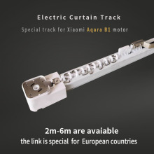 Электрический шторный трек для Xiaomi aqara B1 мотор настраиваемый Супер Довольно для умного дома для ЕС основной страны