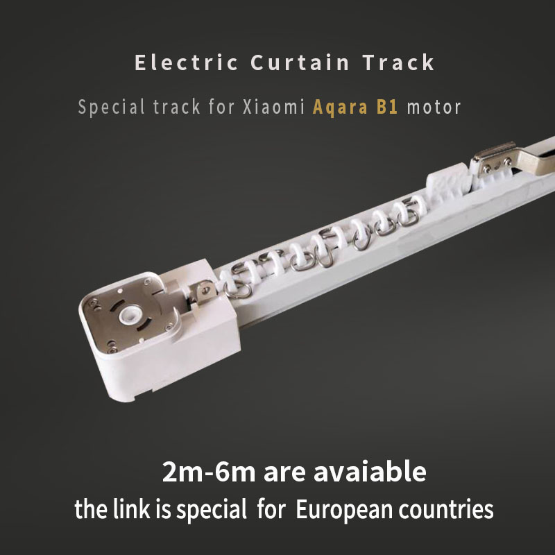 Electric Curtain Track For Xiaomi Aqara  B1 Motor Customizable Super Quite  For Smart Home For EU Main Country