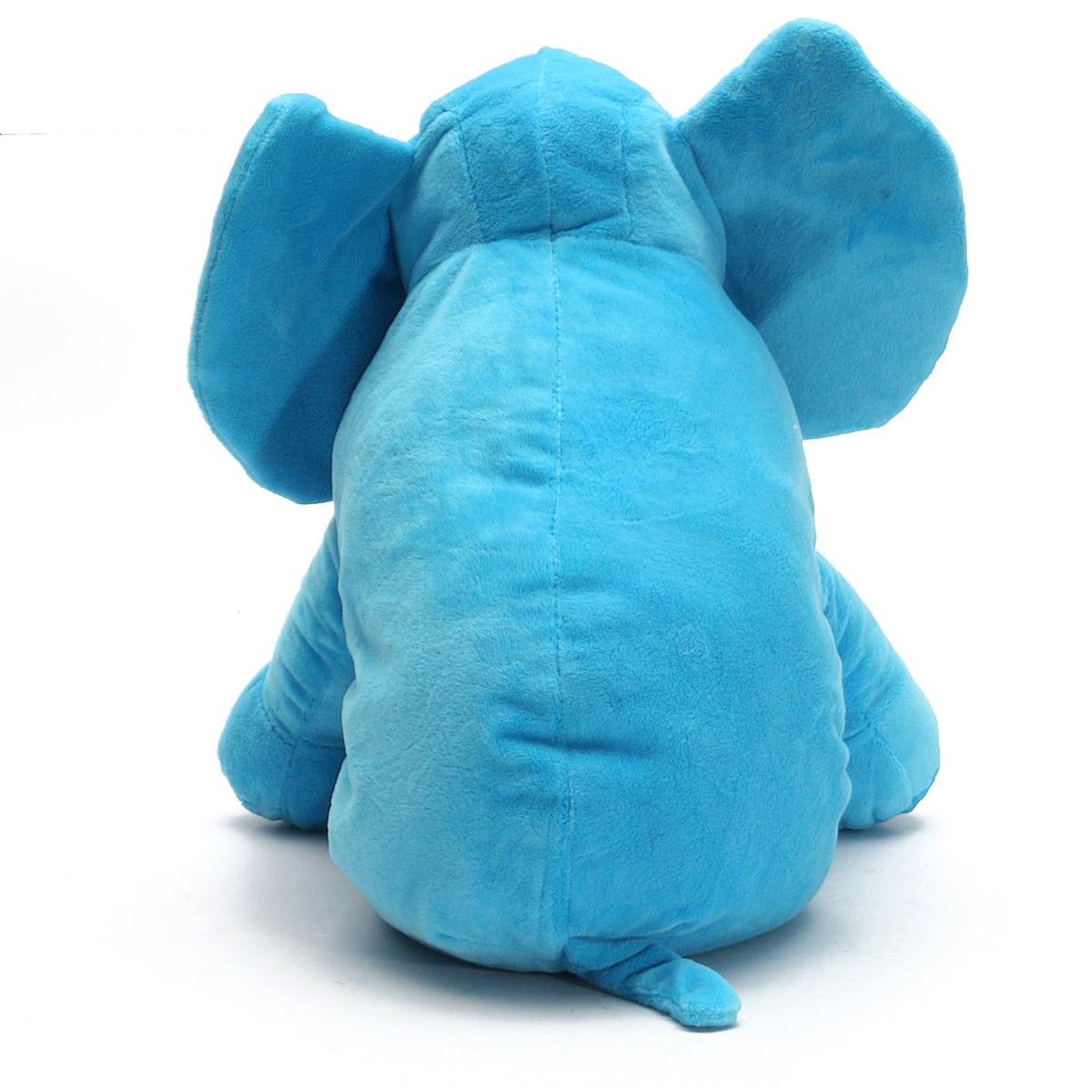 Baby Kids Plush Elephant Sleep Pillow Infant Soft For Sleeping ...