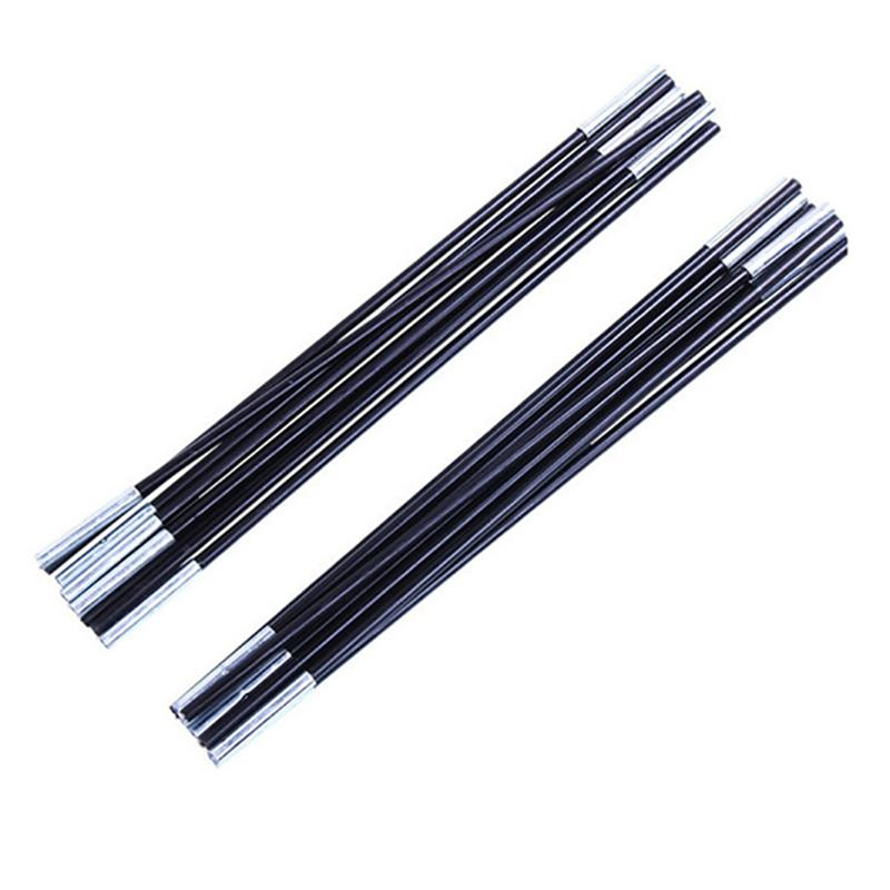 2Pcs Fiberglass Tent Pole Kit Replacement Kit for Multiplayer Camping Tent 7 Sections/Pcs Tent Accessories