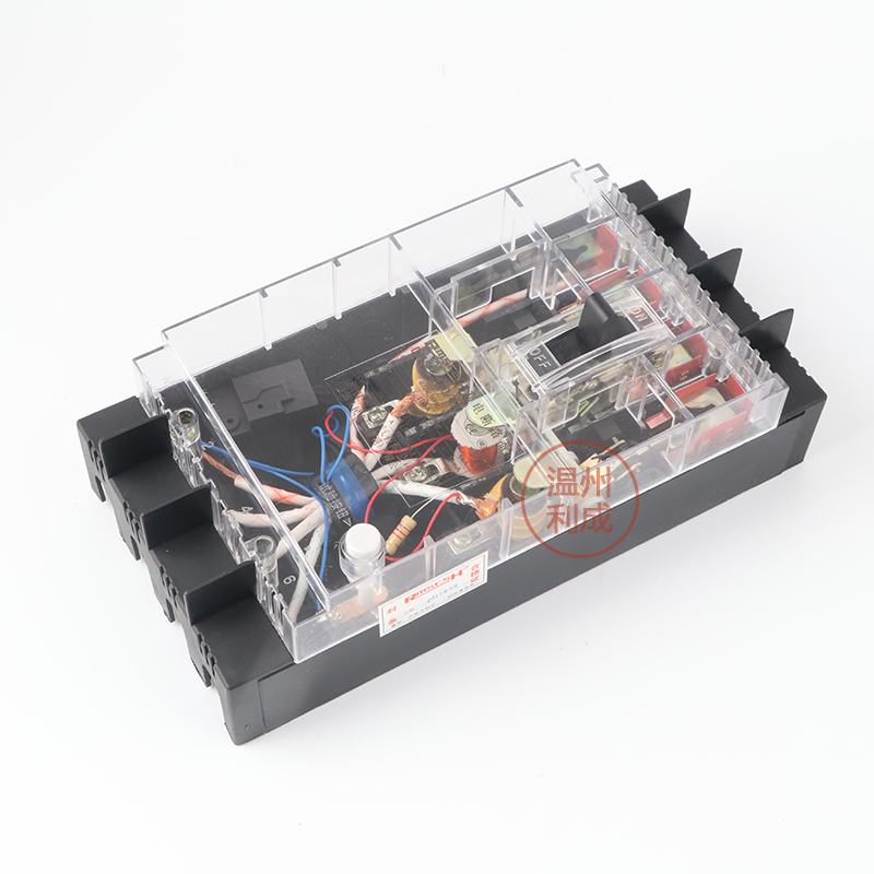 цена на Transparent molded case leakage circuit breaker DZ15LE-100/490 100A three-phase leakage protector air switch