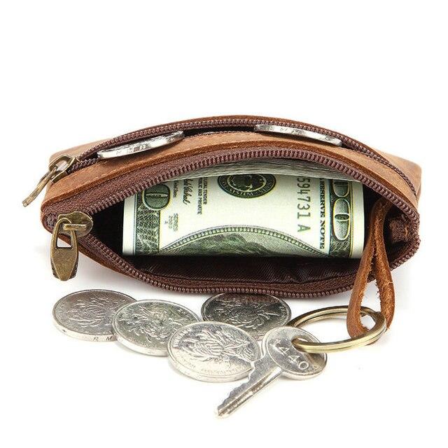 Porte Monnaie Pour Homme En Cuir Veritable 3