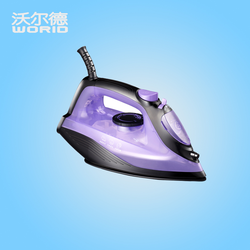 ITAS1302 Domestic steam presses household electric iron portable mini Ironing machine without hurting clothes 220v 600w 1 2l portable multi cooker mini electric hot pot stainless steel inner electric cooker with steam lattice for students