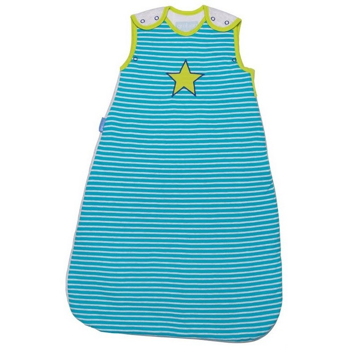 The Gro Company Ziggy Pop Baby Sleeping Bag Pure Cotton 2.5 Tog  0-6 /6-18 /18-36 Months