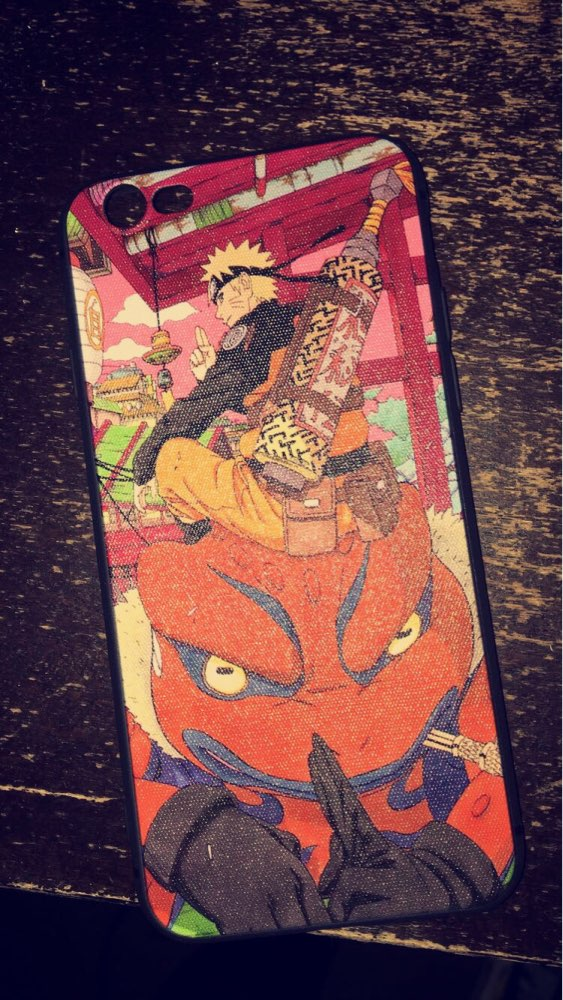 Naruto Phone Case for Iphone photo review