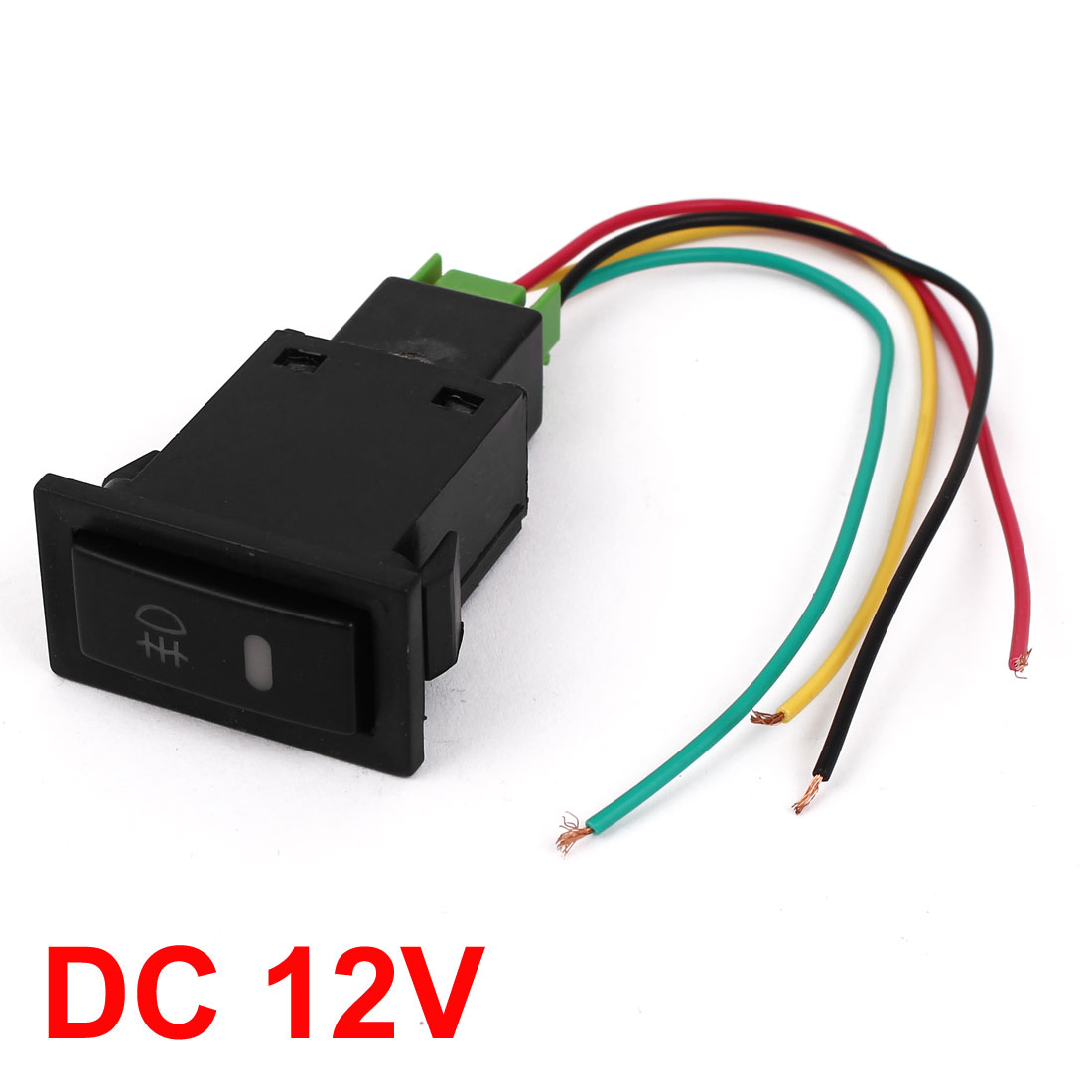 x autohaux dc12v panel mount yellow pilot lamp 4 wire fog lightx autohaux dc12v panel mount yellow pilot lamp 4 wire fog light switch for toyota camry on aliexpress com alibaba group