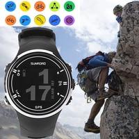 FR930 GPS Men Boy Digital Watch LCD Display Waterproof Compass Mountaineering Watch Wrist Watch Climbing Recording Equipment