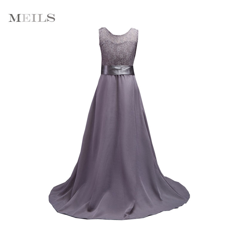 For 8 -18 Yrs Teen Girls Evening party Full prom Gowns princess wedding Birthday First Communion Long dress Chiffon Lace Frocks floral flower printed ball gowns with belt 2016 summer o neck short sleeve princess dress for party frocks evening prom dress