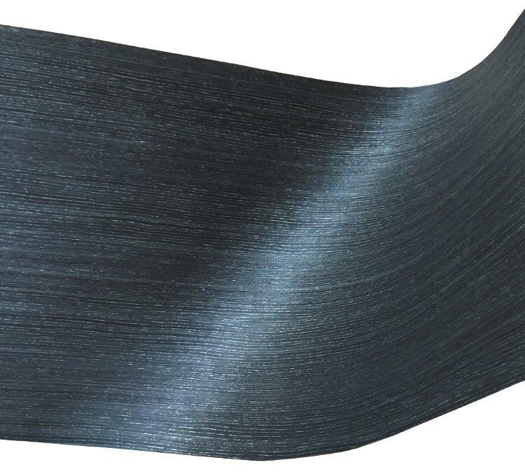 Artificial Veneer Technical Veneer Sliced Wood  Engineering Veneer E.V. 65cm X 2.5m Black Oak Straight Grain Striped Q/C